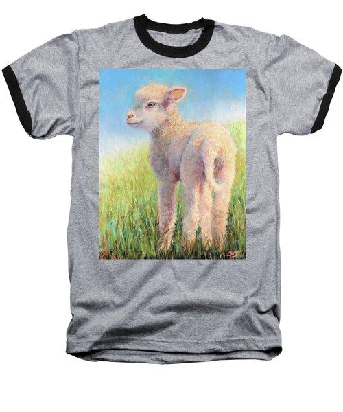 Behold The Lamb Baseball T-Shirt