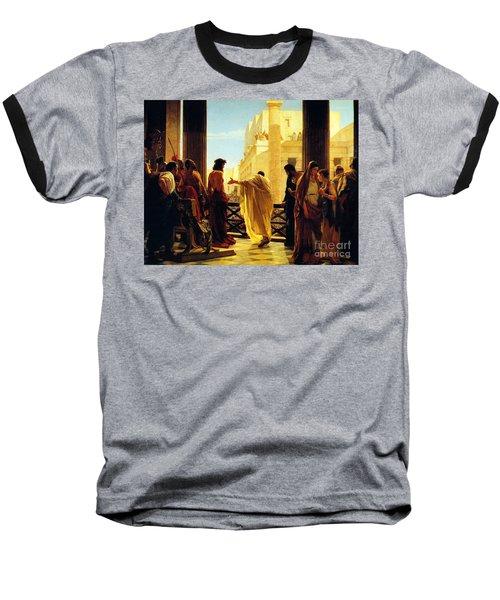 Behold The Man Baseball T-Shirt