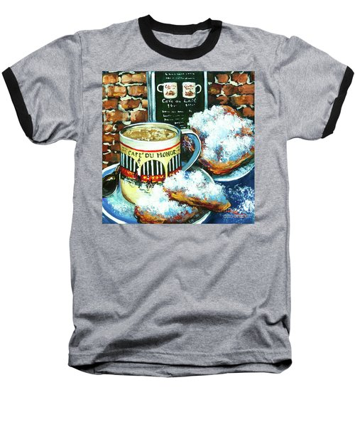 Beignets And Cafe Au Lait Baseball T-Shirt