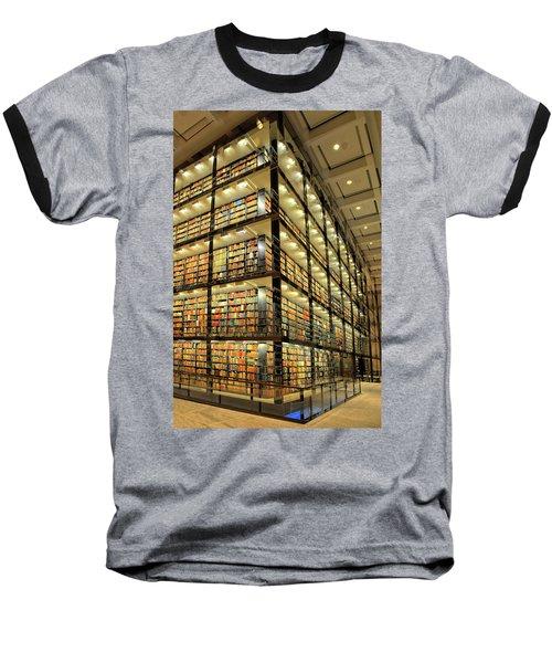Beinecke Library At Yale University Baseball T-Shirt