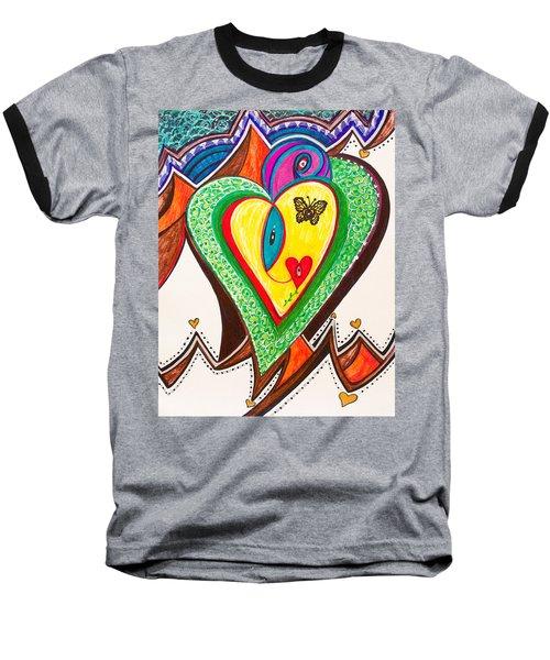 Being Alive - Iv Baseball T-Shirt