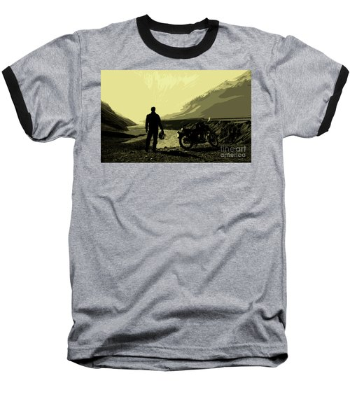 Being In The Movie II Baseball T-Shirt