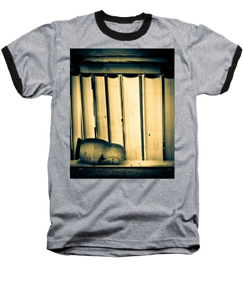 Being John Malkovich Baseball T-Shirt by Bob Orsillo