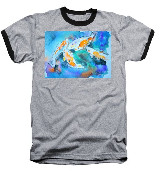 Being Koi Baseball T-Shirt