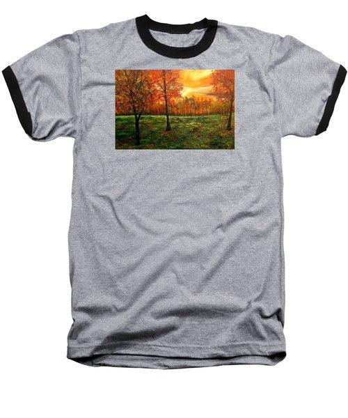 Being Thankful Baseball T-Shirt by Lisa Aerts