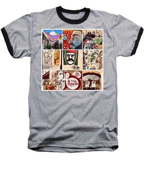 Beirut Funky Shots Baseball T-Shirt