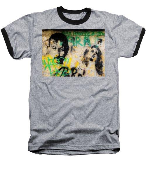 Beirut Wall Love Baseball T-Shirt