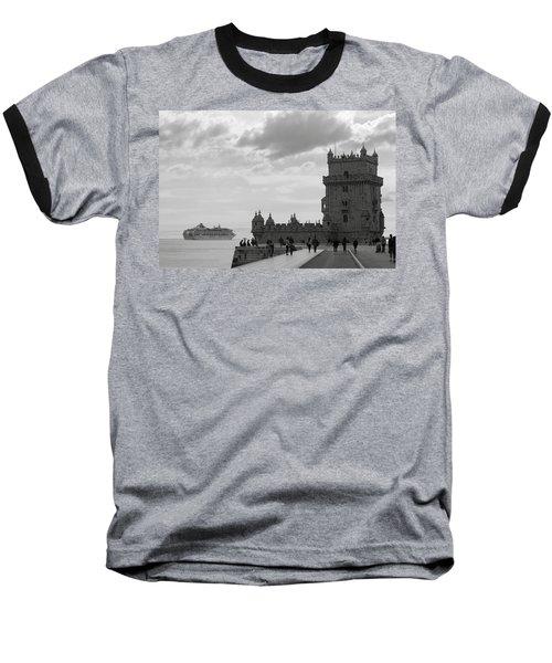 Belem And The Boat Baseball T-Shirt