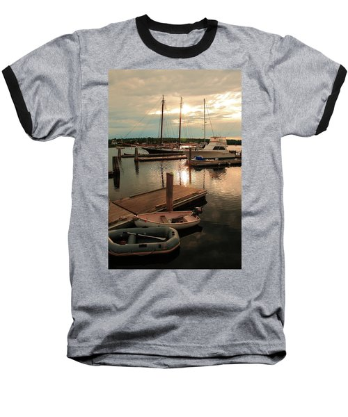 Belfast Harbor Baseball T-Shirt