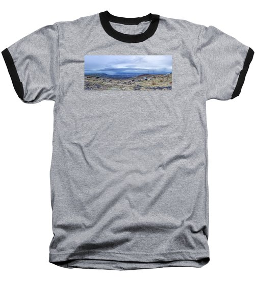 Belfast Lough From Divis Mountain Baseball T-Shirt