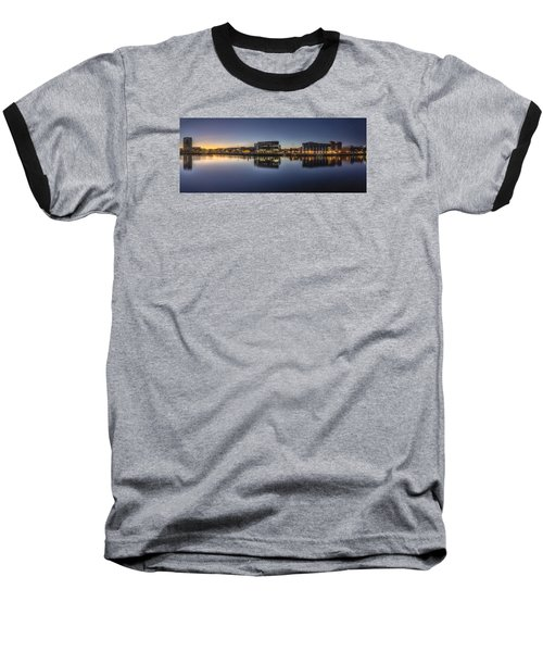Belfast Near The Docks Baseball T-Shirt