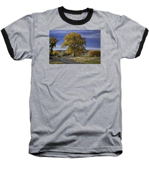 Belfry Fall Landscape 5 Baseball T-Shirt