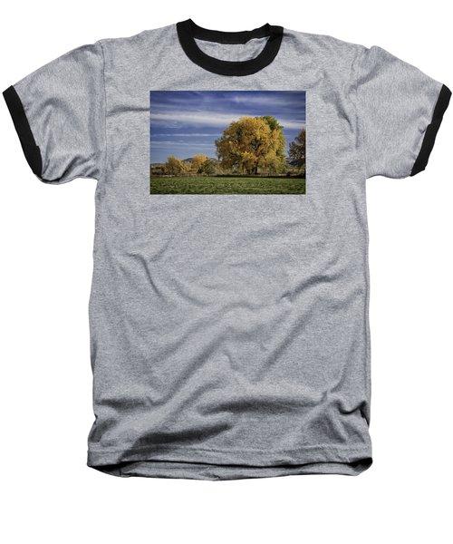 Belfry Fall Landscape 7 Baseball T-Shirt