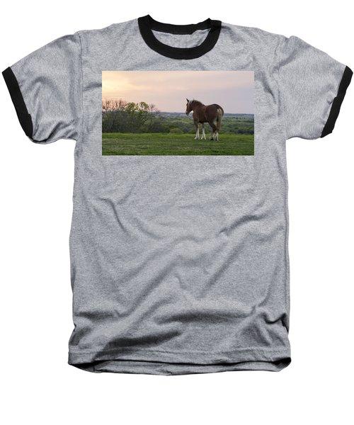 Belgian At Sunset Baseball T-Shirt