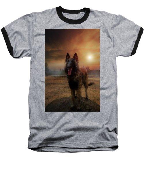 Belgian Shepherd Baseball T-Shirt