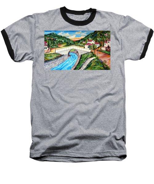 Beli Most Vranje Serbia Baseball T-Shirt