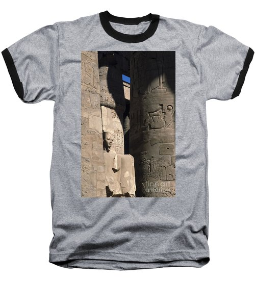 Belief In The Hereafter - Luxor Karnak Temple Baseball T-Shirt