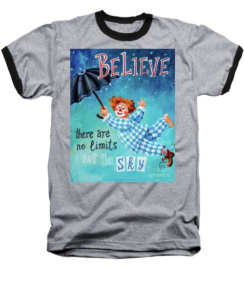 Believe Baseball T-Shirt by Igor Postash