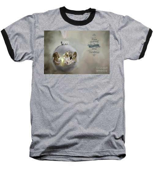 Believe In The Magic Of Christmas Baseball T-Shirt