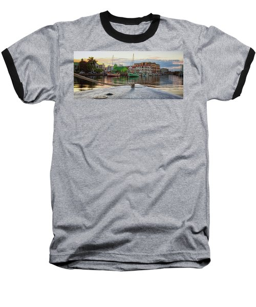 Belize City Harbor Baseball T-Shirt