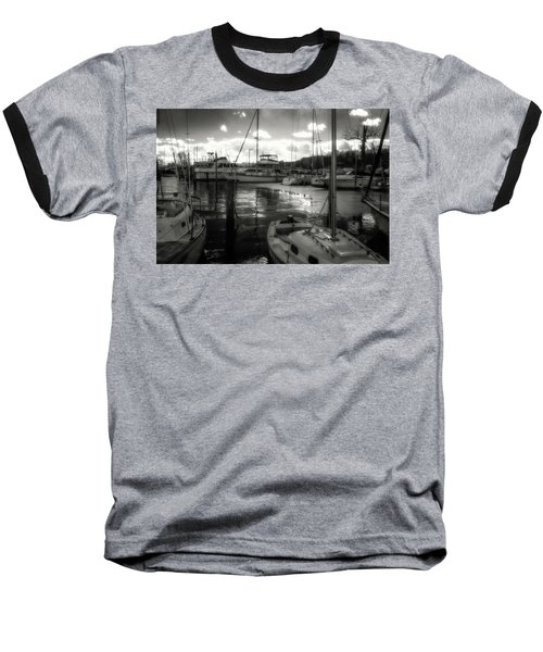 Bell Haven Docks Baseball T-Shirt by Paul Seymour
