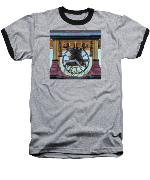 Baseball T-Shirt featuring the photograph Bell Lighting by Constantine Gregory
