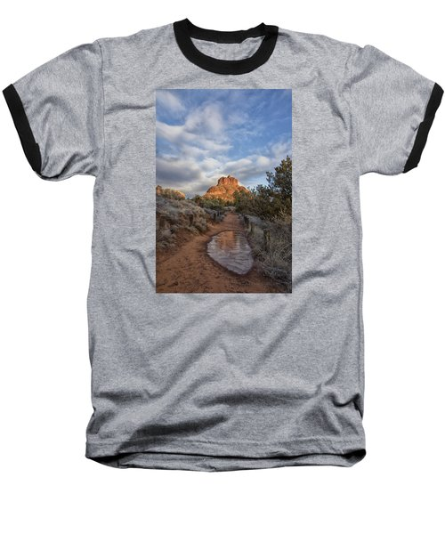 Bell Rock Beckons Baseball T-Shirt