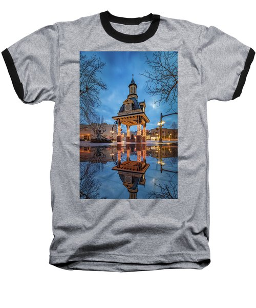 Baseball T-Shirt featuring the photograph Bell Tower  In Beaver  by Emmanuel Panagiotakis