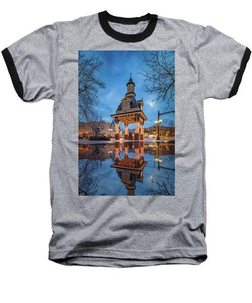 Bell Tower  In Beaver  Baseball T-Shirt