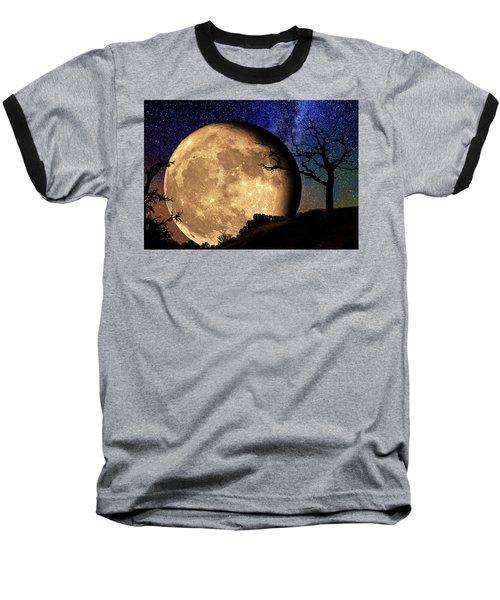 Bella Luna From Another World Baseball T-Shirt