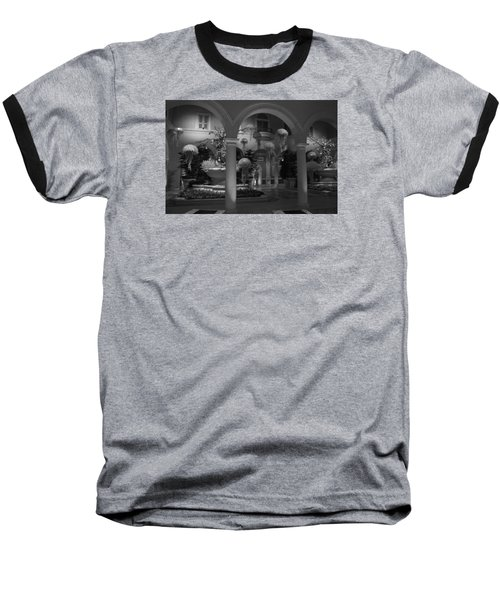 Bellagio Entrance Baseball T-Shirt