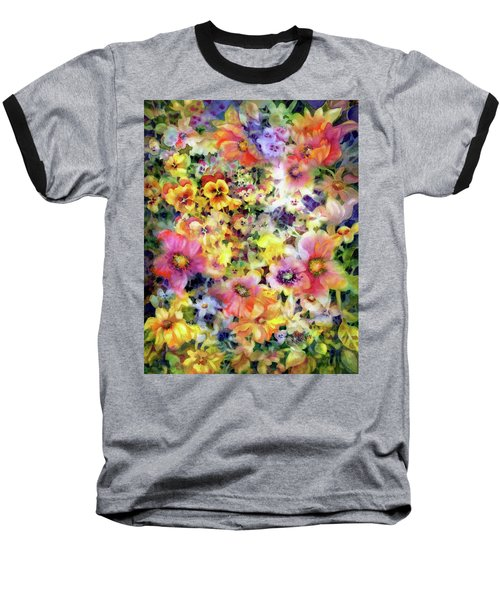 Belle Fleurs I Baseball T-Shirt