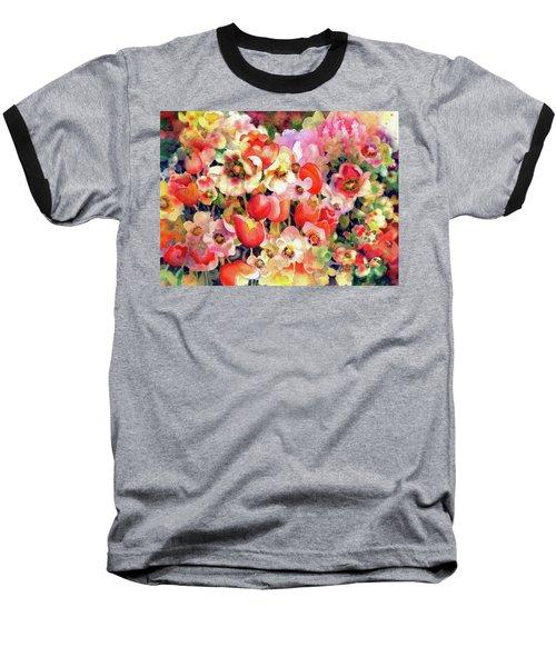Belle Fleurs II Baseball T-Shirt