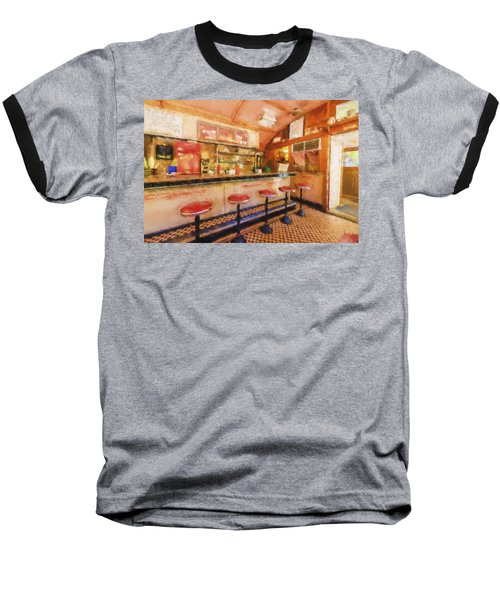 Bellows Falls Diner Baseball T-Shirt
