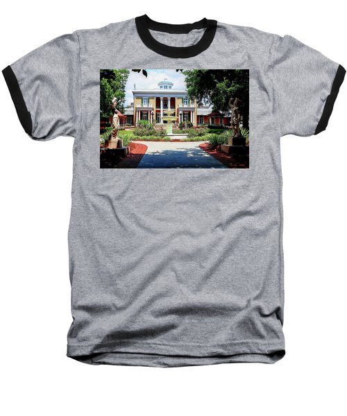 Belmont Mansion Baseball T-Shirt