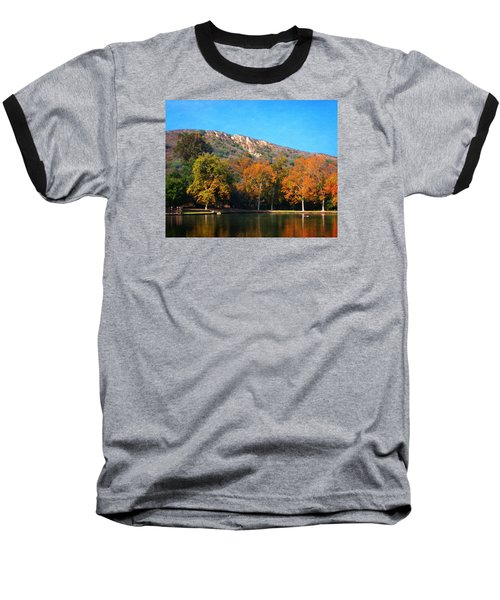 Below Puma Ridge Baseball T-Shirt by Timothy Bulone