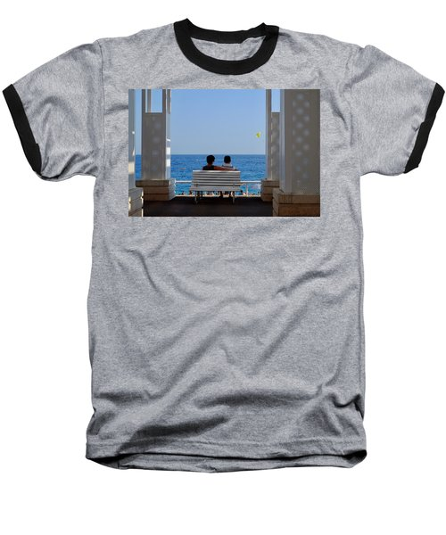 Below Sea Level Baseball T-Shirt