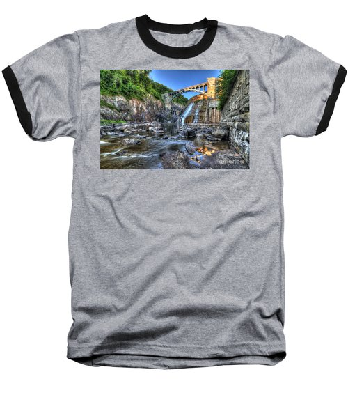 Below The Dam Baseball T-Shirt