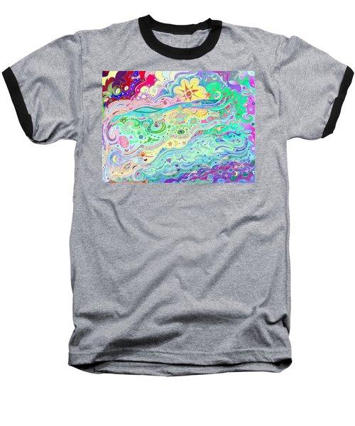 Beltaine Seashore Dreaming Baseball T-Shirt