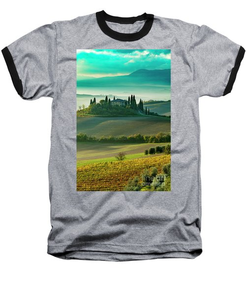 Baseball T-Shirt featuring the photograph Belvedere - Tuscany II by Brian Jannsen