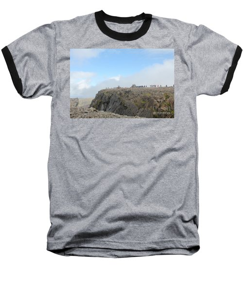 Ben Nevis Baseball T-Shirt by David Grant