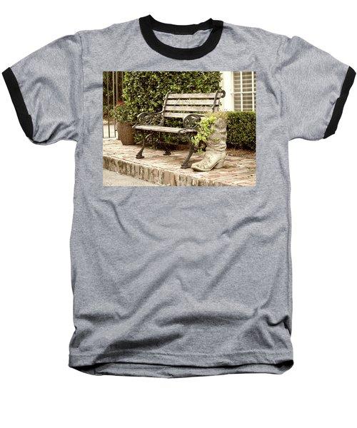 Bench And Boot 2 Baseball T-Shirt