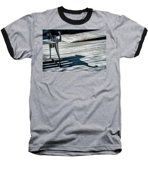 Bench Shadow Baseball T-Shirt