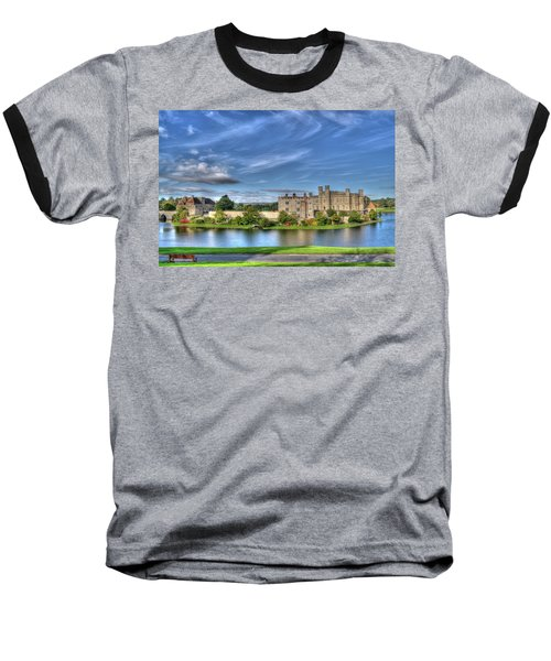 Bench View Of Leeds Castle Baseball T-Shirt