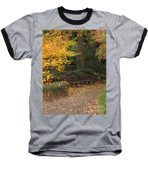 Benches In The Park Baseball T-Shirt