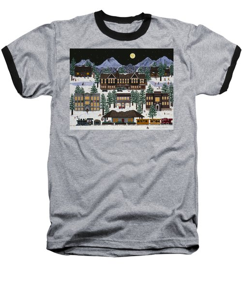 Bend @ Night Baseball T-Shirt