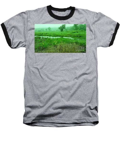 Beneath The Clouds Baseball T-Shirt