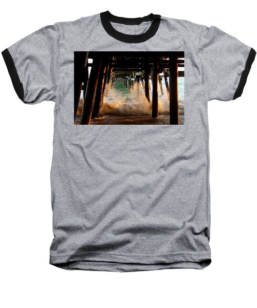 Beneath The Pier Baseball T-Shirt