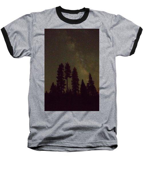 Beneath The Stars Baseball T-Shirt