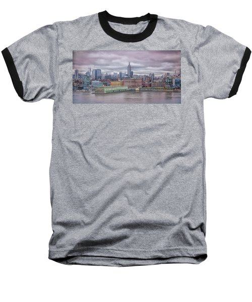 Beneath The Stormy Morning Baseball T-Shirt